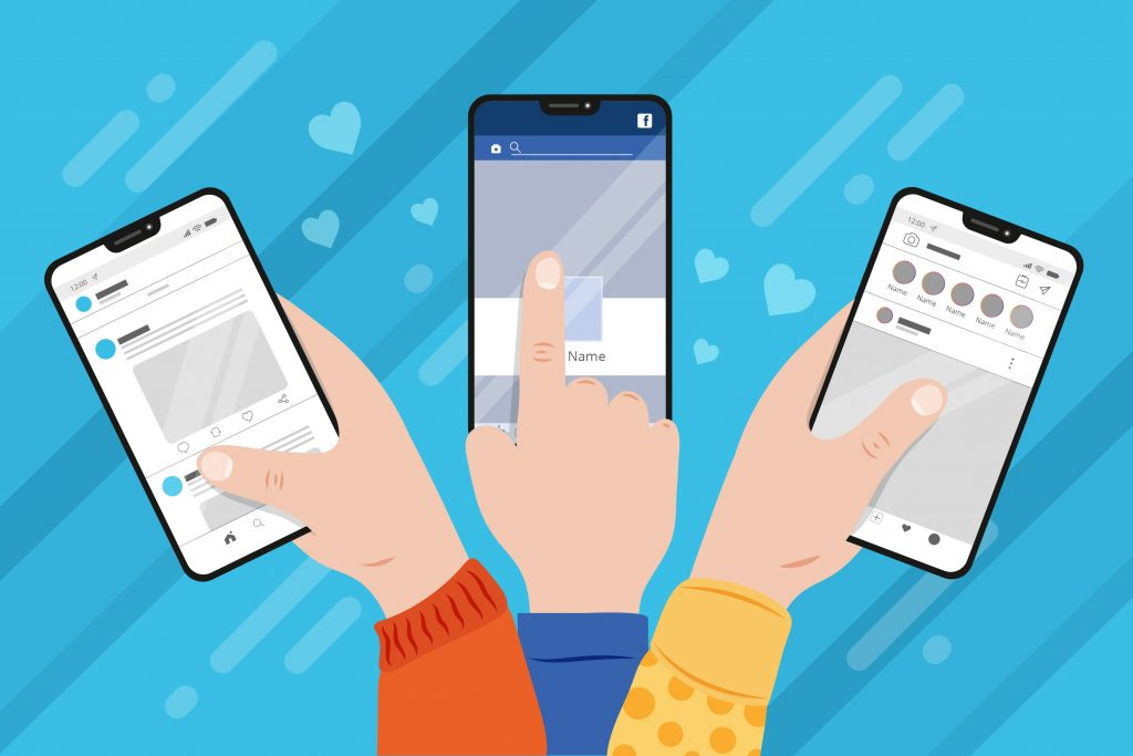 Strategie social media pentru diverse platforme