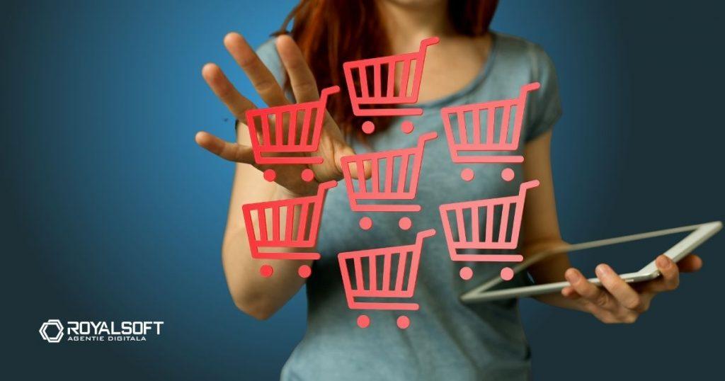 trafic magazin online si spatiu de stocare