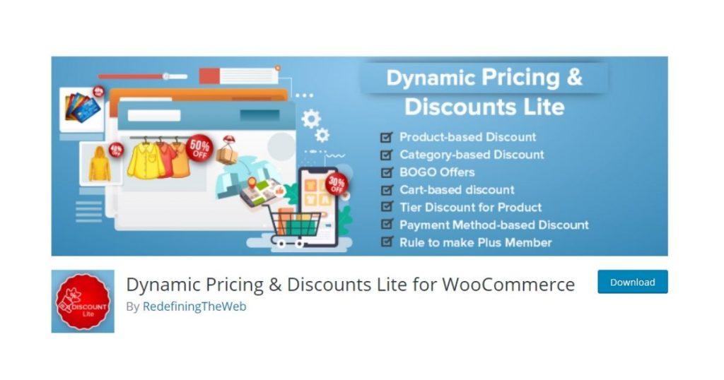 dynamic princing and discounts pentru magazin woocommerce