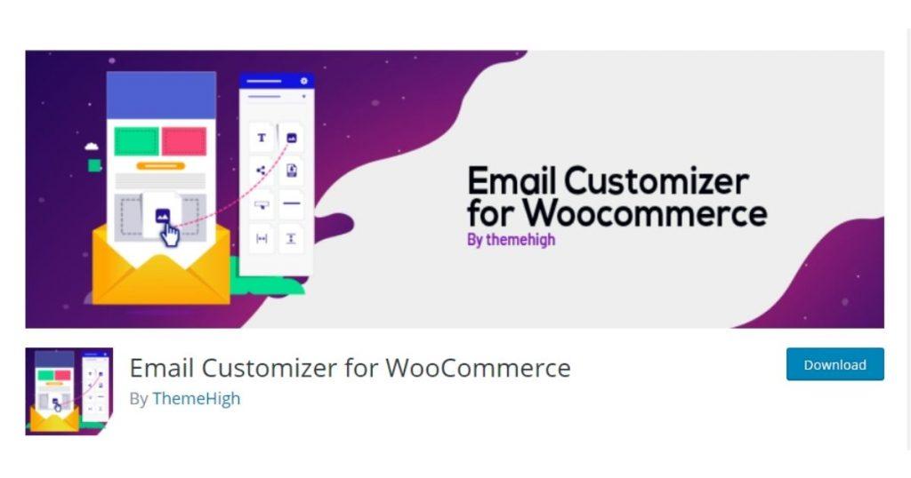email customizer woocommerce