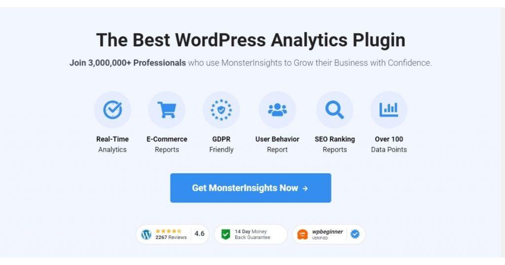 MonsterInsight wordpress plugin