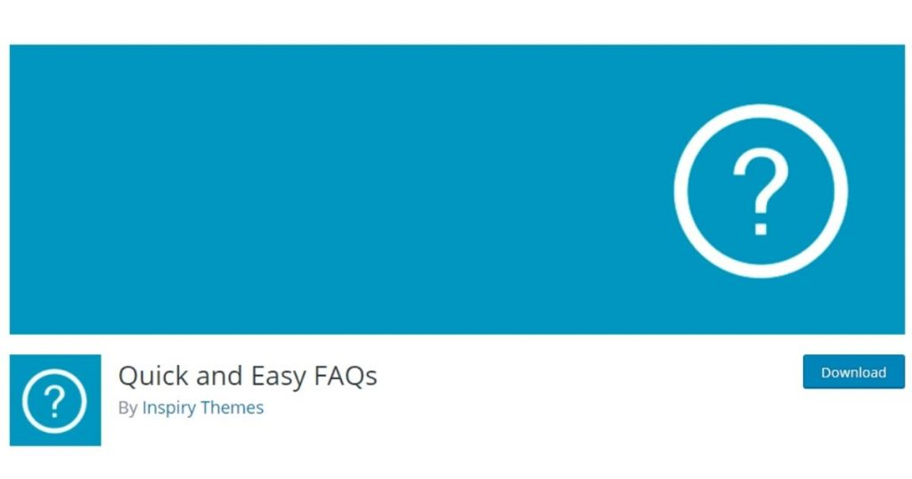 quick and easy FAQ plugin