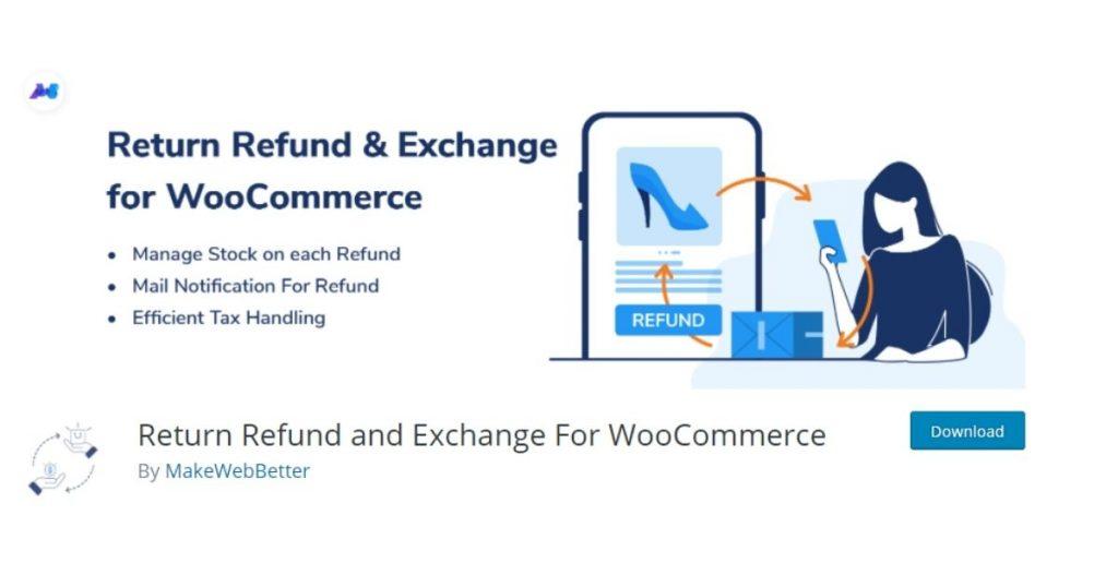 return refund and exchange pentru woocommerce