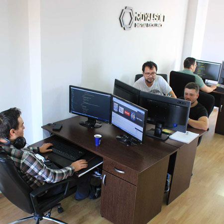 Web Developers at work
